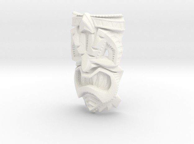 TikiheadE_30mm1 3d printed