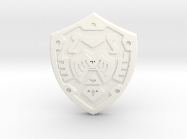 Hero's Shield I 3d printed