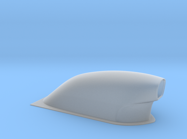 1/12 scale Pro Modified Hood Scoop 3d printed