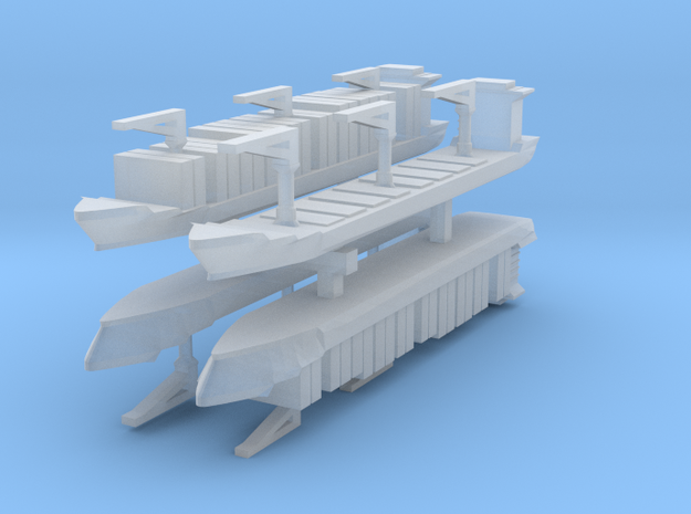Xiamen Container Ship 1:6000 x4