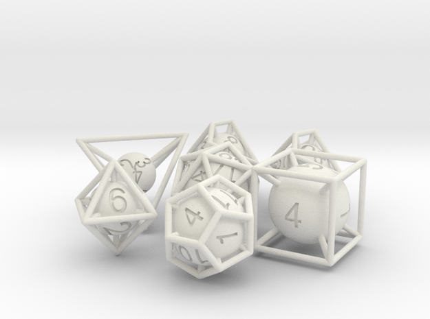 Frame Dice Pack 3d printed