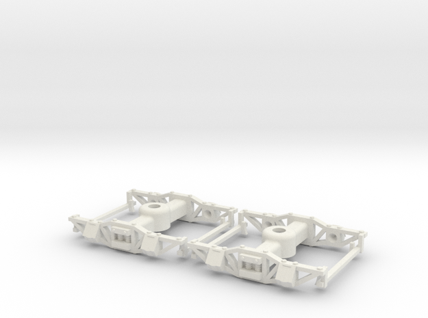 On30 Gilpin Tram Truck 3d printed