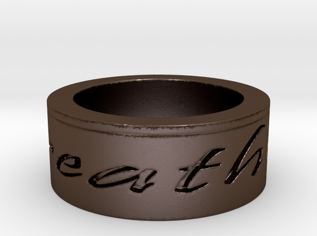 Breathe Ring Size 10 3d printed