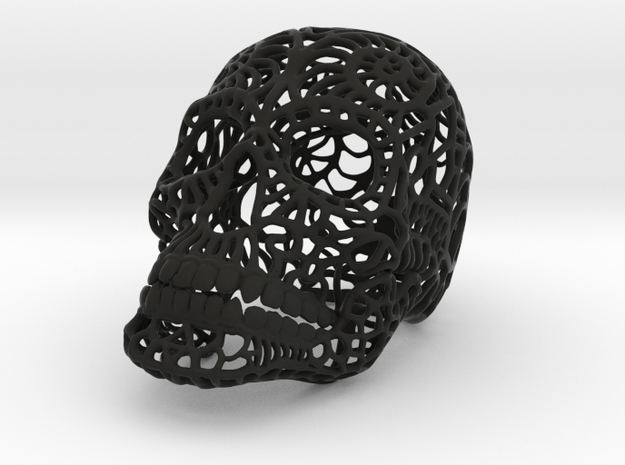 Nautilus Sugar Skull - MEDIUM 3d printed