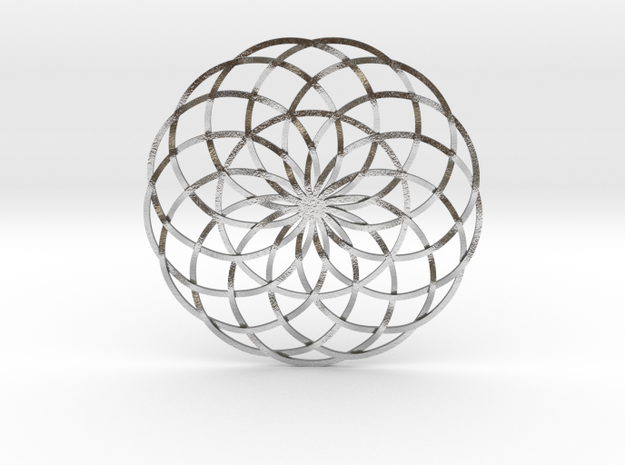 Moon Flower 3d printed