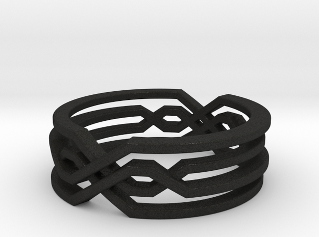 Tribal Ring 3d printed