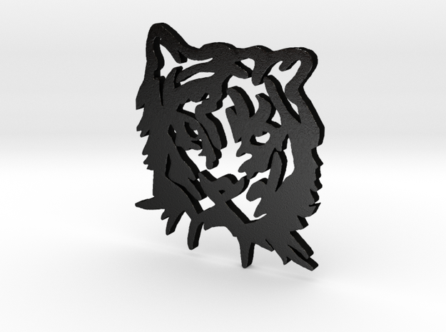 NODE - Tiger Pendant - 3d printed