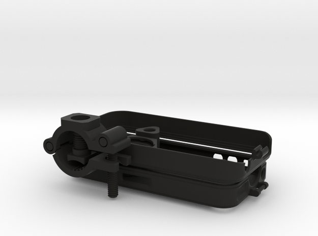 """iPhone 4 bike mount assembly 1"""" 3d printed"""