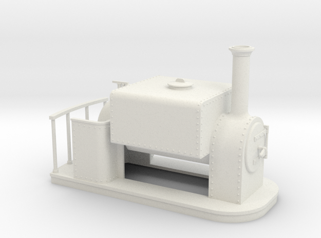 On16.5 old style Square saddle tank 3d printed