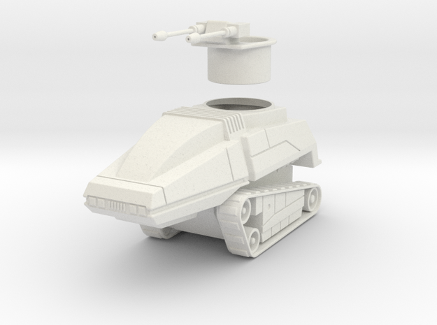 GV06 28mm Sentry Tank 3d printed