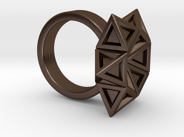Star of David Ring 3d printed