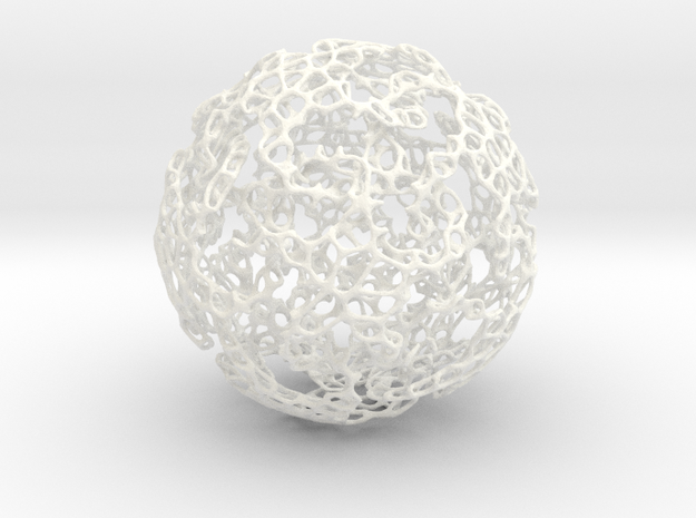 Linked Voronoi - Large 3d printed