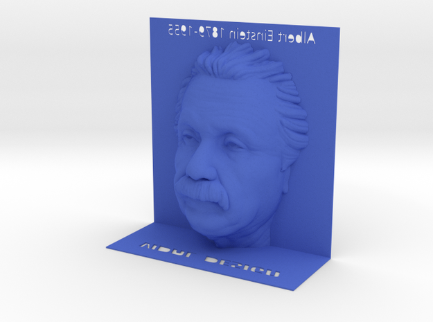 Illusion Albert Einstein - 120mm 3d printed