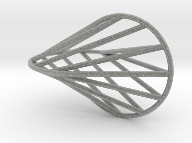 oloid grid 3d printed