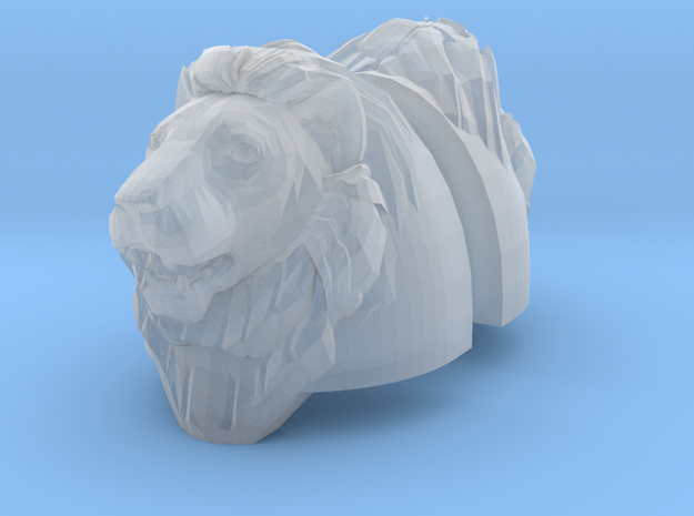 Lion Heroic Heavy Shoulders Pair (x1) 3d printed
