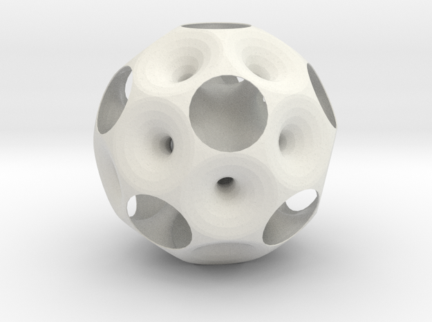 dodecahedron inside out 0.2 3d printed