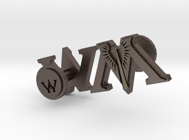Harry Potter Ministry of Magic Cufflinks 3d printed