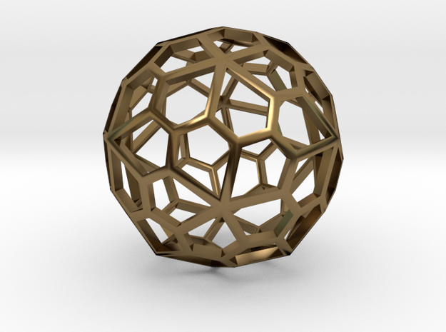 Polyhedral Pendant 3d printed