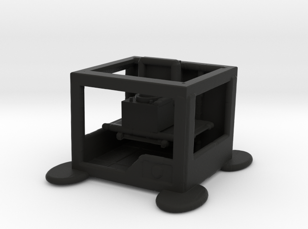 3d Printer printing Record Player 3d printed