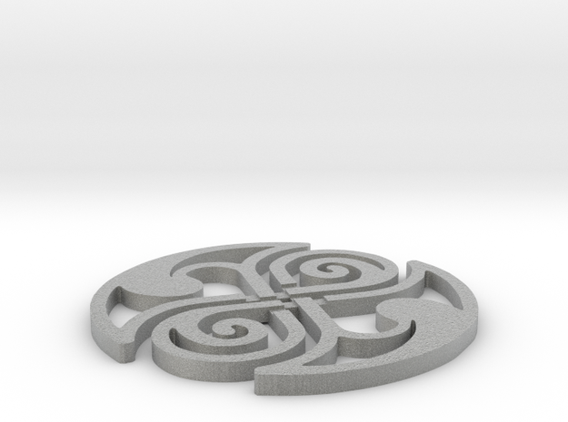 Celtic Knot Coaster 3d printed