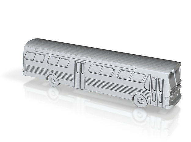 GM FishBowl Bus - Nscale 3d printed