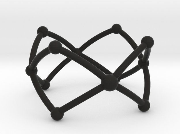 Frustrated Chain ring 3d printed