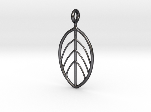 Apple Leaf Pendant 3d printed