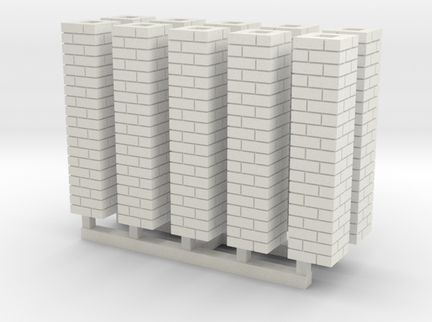 Single Brick Pier HO X 10 3d printed