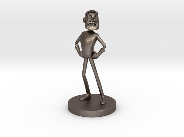 Johnny Blender 3 - JB3 - Full-Color Statue 3d printed
