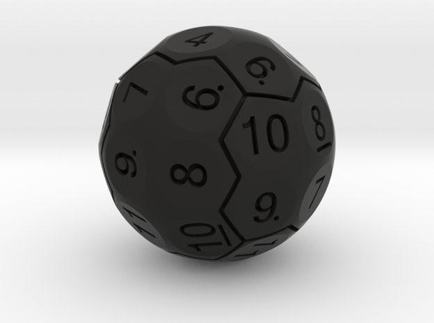 D36 Boardered Standard Numbers 3d printed