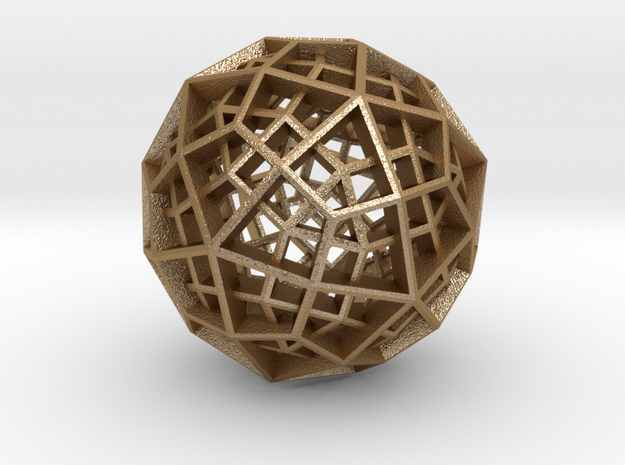 Polyhedral Sculpture #30B 3d printed