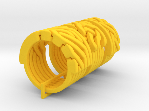 Ring set 1 Weave-Five Take-Five Six-to-Three 3d printed