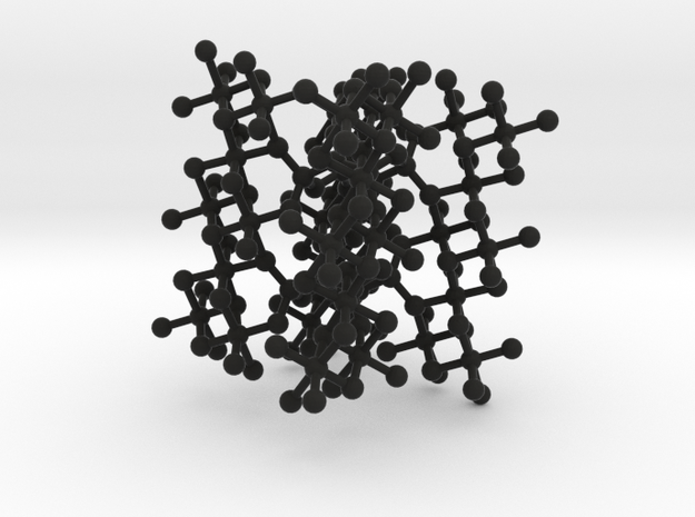 Frustrated Chain small framework 3d printed