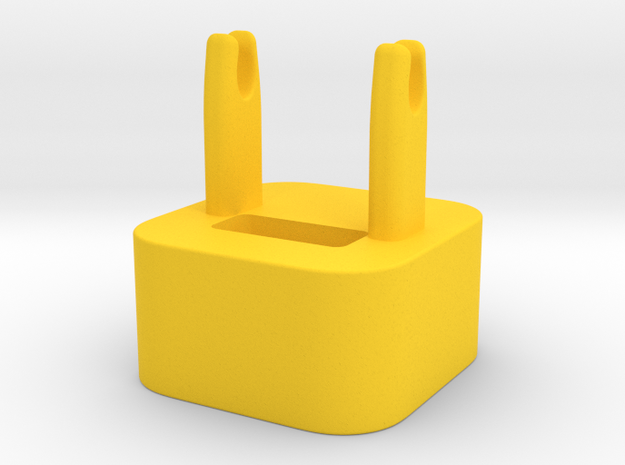 The Wrap - cable winder for iPhone charger 3d printed
