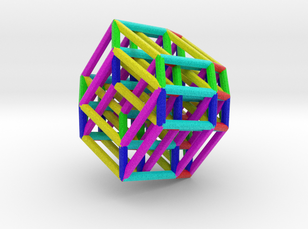 Color Hexeract 3d printed