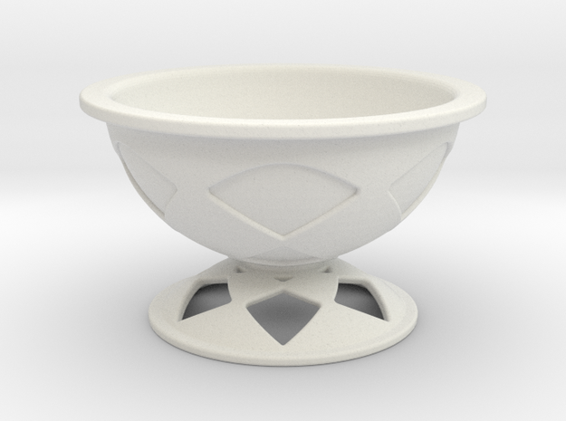 Font Hill Crop Circle Bowl Lowered Foot 3d printed
