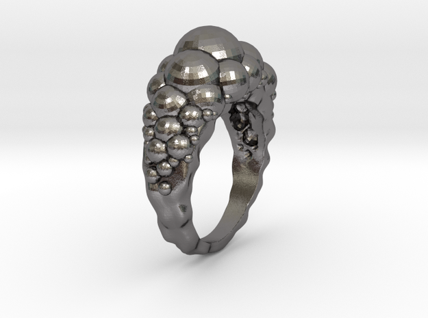 Sphere Ring size 8 3d printed