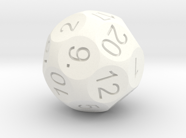D22 Sphere Dice 3d printed