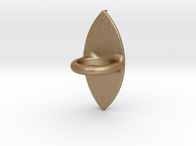 I3D Ring with eye Ø14 3d printed