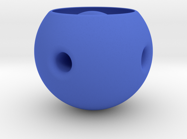 Desk Toy | Hole Thru a Hole in a Hole 3d printed