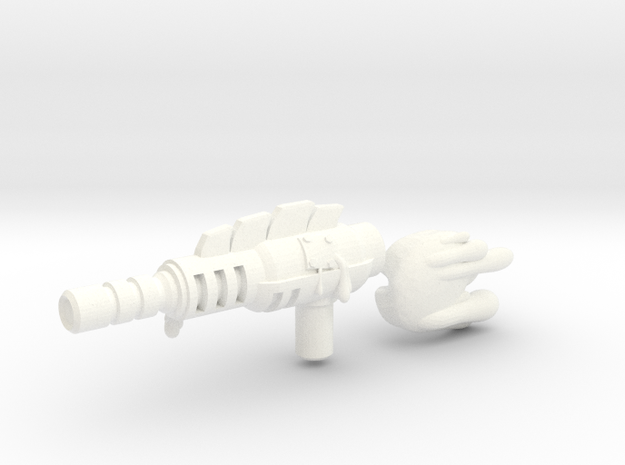Predacon Blight's 3mm Sludgethrower 3d printed