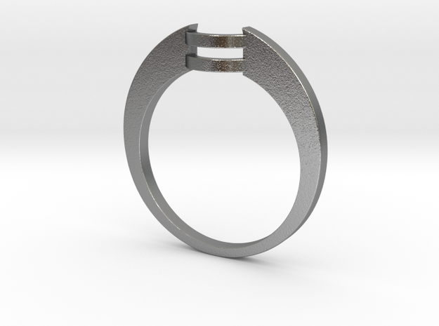Custom Wedding Band v4 3d printed