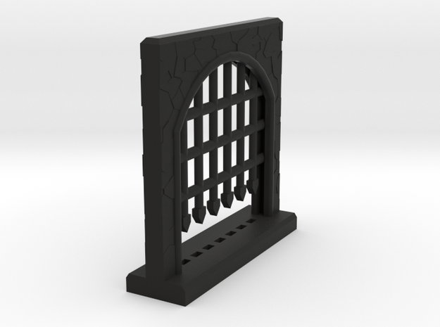 Large Portcullis - Single 3d printed