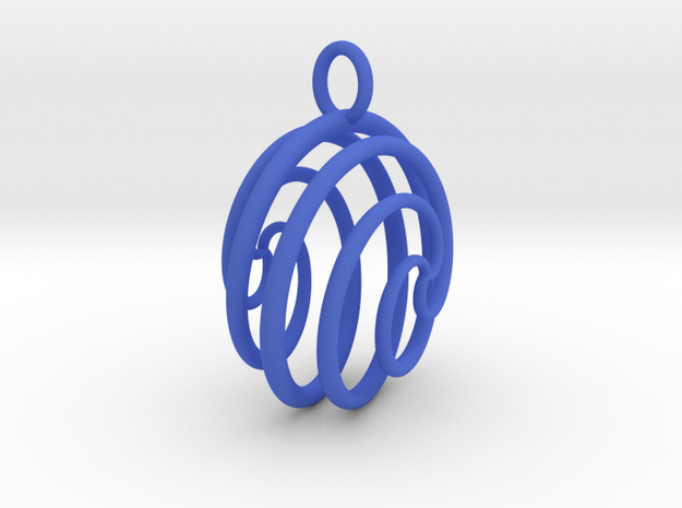 Ball Ornament 3d printed