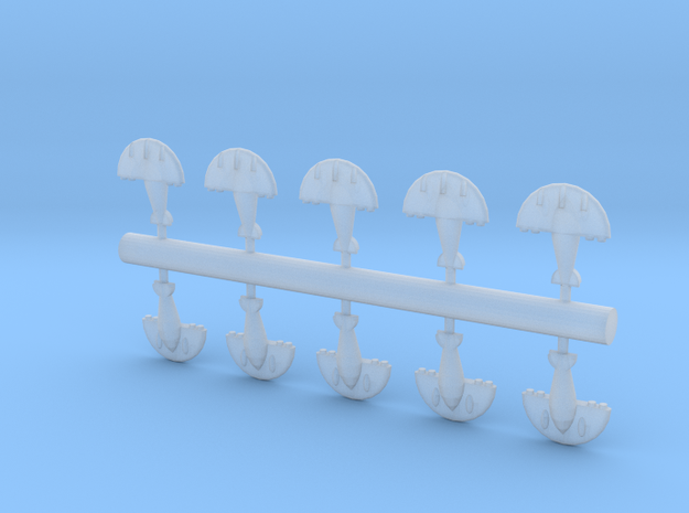 10 Aquatic Fighter/Bombers 3d printed