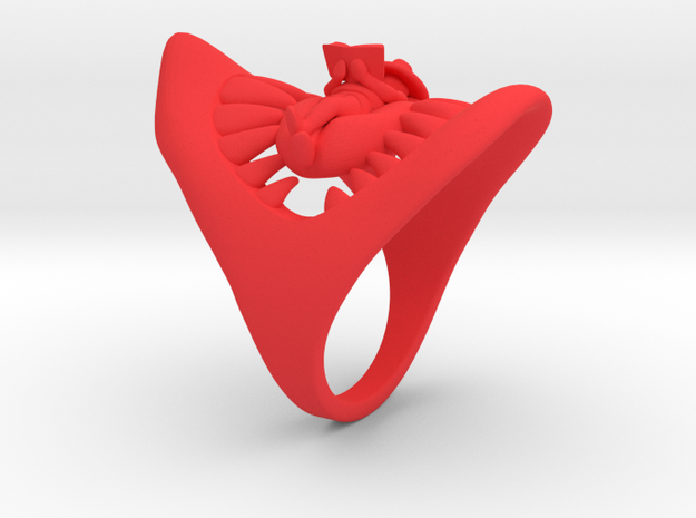 Jaws ring 3d printed