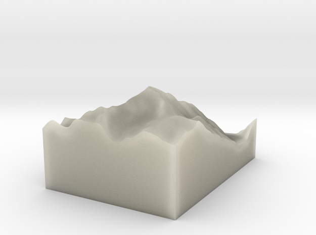 MONT BLANC C 3d printed