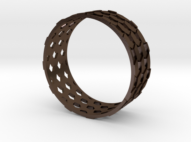 Parquet Deformation Ring (57mm) 3d printed