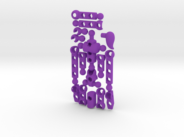 V3 Moli (female)- Poseable Figure Kit 3d printed