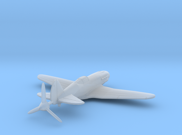 1/144 MiG-3 WW2 Soviet Fighter 3d printed